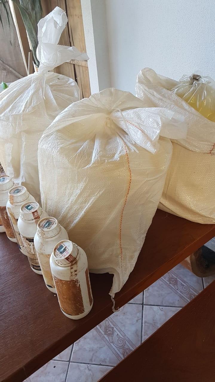PF cumpre mandados em MT, GO e PR em operação contra adulteração e contrabando de agrotóxicos do Paraguai