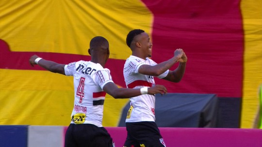 Análise: sem a bola e sem transições rápidas, Vitória é dominado pelo São Paulo