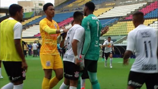 Vídeo: Jogadores de Flamengo e Corinthians brigam após a partida pelo Brasileiro Sub-20