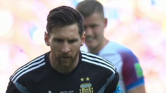 """Rizek analisa reação de Messi após perder o pênalti: """"Passava a sensação de sofrimento"""""""