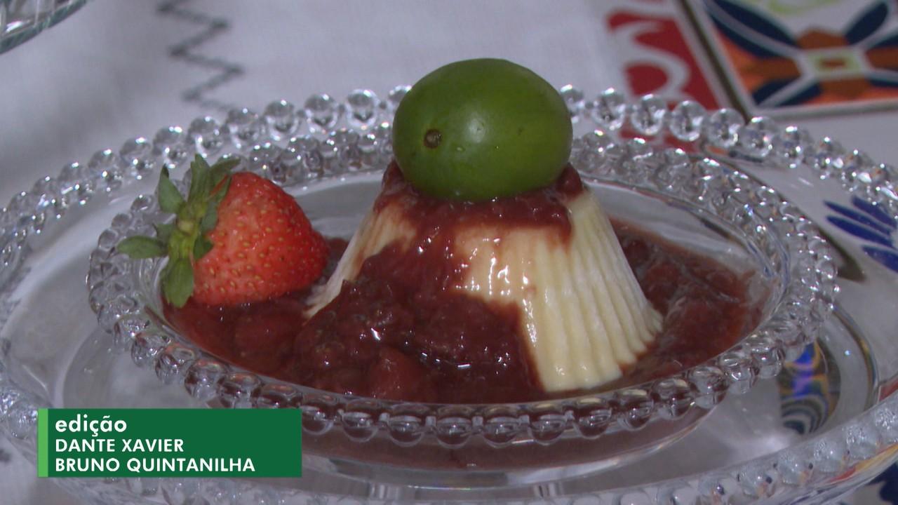 Aprenda a receita de 'Panacota', sobremesa com frutas abundantes na Bahia