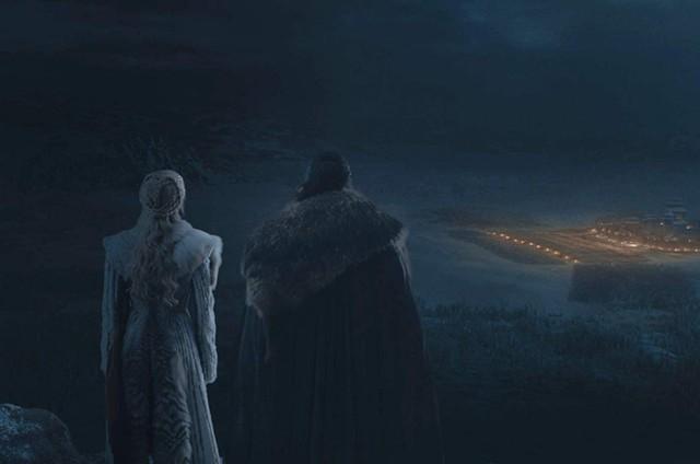 """Cena do episódio """"The long night&squot; de &squot;Game of thrones&squot; (Foto: Reprodução)"""