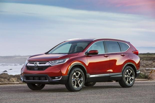Corolla Vs Civic 2017 >> Novo Honda CR-V será lançado no Brasil entre janeiro e fevereiro de 2018 - AUTO ESPORTE   Notícias