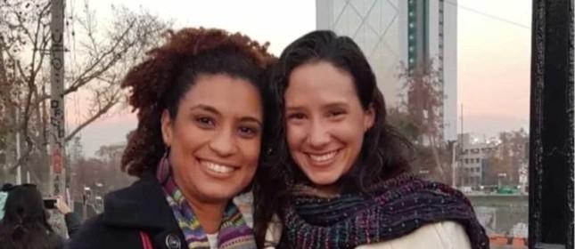 Monica Benício e Marielle