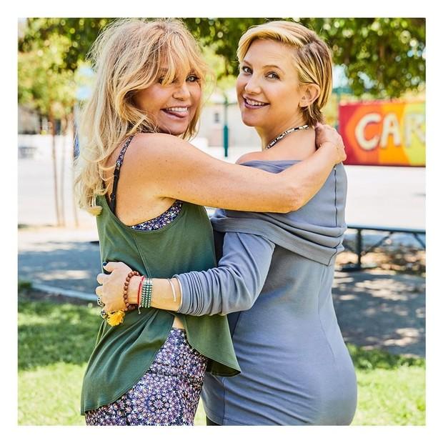 Goldie Hawn e Kate Hudson (Foto: Reprodução/Instagram)