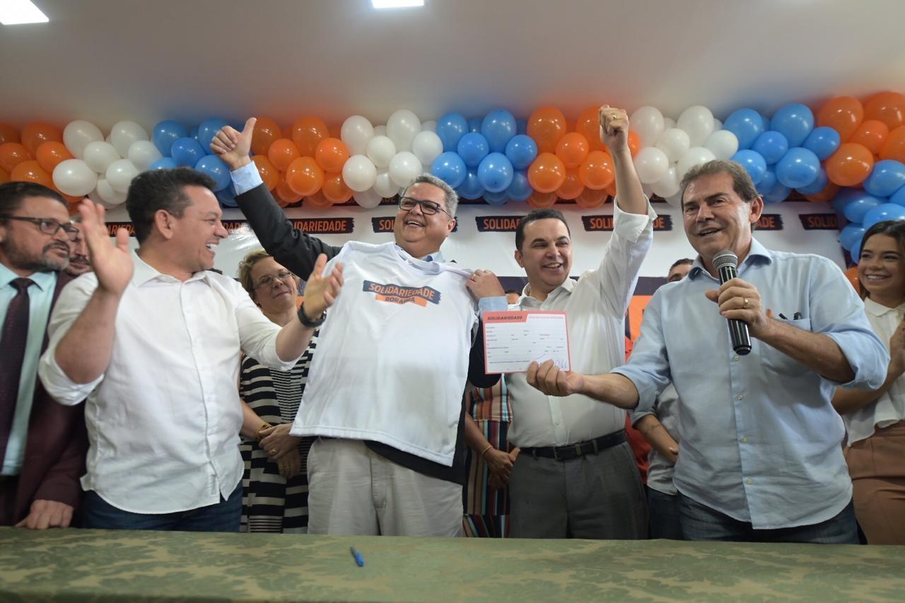 Vice-governador de RR se filia ao Solidariedade após romper com Denarium - Notícias - Plantão Diário