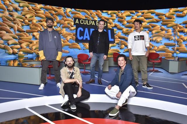 Elenco de 'A culpa é do Cabral' (Foto: Divulgação)