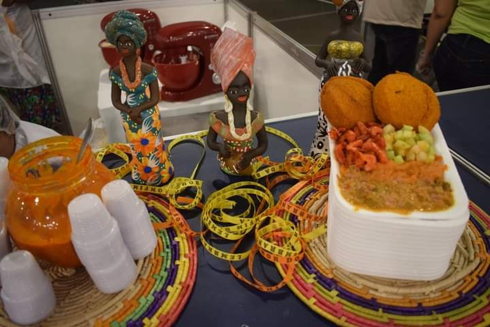Vamos Subir a Serra vai ter gastronomia afro com pratos a R$ 15,00 — Foto: Helciane Angélica