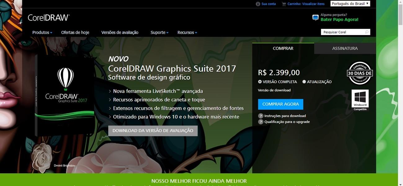 corel draw x7 para windows 10