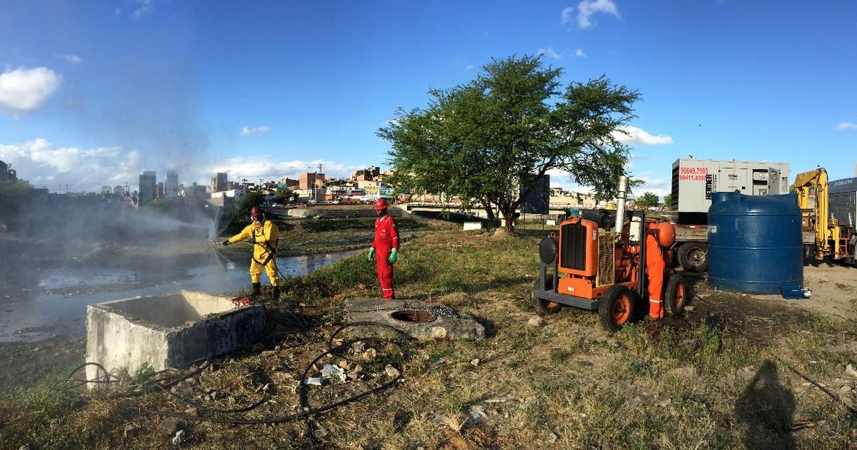 Compesa inicia recuperação de esgotamento sanitário em Caruaru