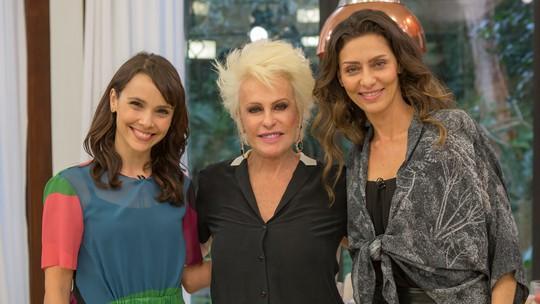 Débora Falabella e Maria Fernanda Cândido celebram clima de amizade nos bastidores de 'A Força do Querer'