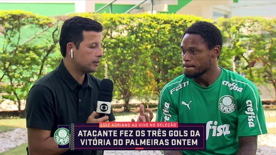 """Luiz Adriano elogia Mano, mas acredita em pressão sobre o Palmeiras """"até o último jogo"""""""