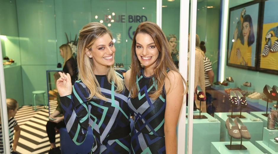 michele, paula, blue bird shoes (Foto: Divulgação)