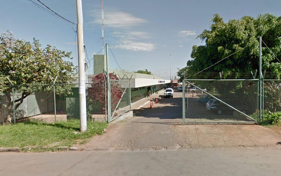 Fachada da 23ª DP, no P Sul, em Ceilândia (Foto: Google/Reprodução)