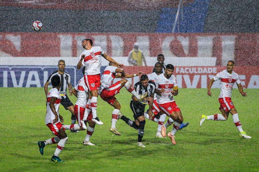 Time não manteve padrão — Foto: Ailton Cruz/Gazeta de Alagoas