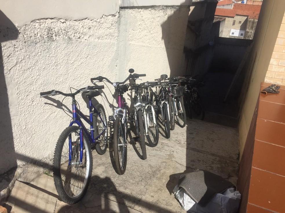 Projeto voluntário recupera bicicletas em Sorocaba — Foto: Fábio Gianolla/Arquivo pessoal
