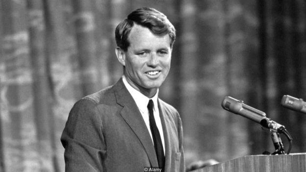 Robert F. Kennedy descreveu como autores clássicos ajudaram a moldar seu pensamento (Foto: Alamy via BBC News Brasil)