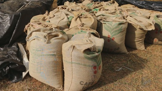 Homens são presos suspeitos de roubar carga de café avaliada em R$ 300 mil em Campanha, MG