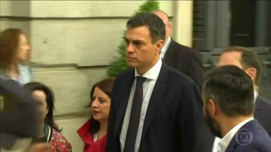 Após queda de Rajoy, Pedro Sánchez assume governo da Espanha