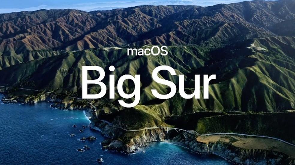 macOS Big Sur — Foto: Reprodução/Apple