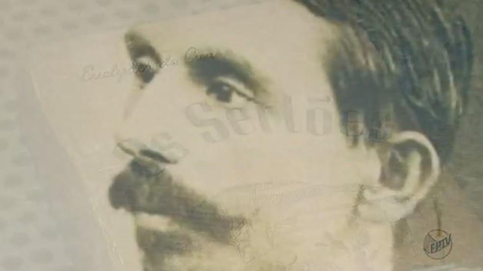 O escritor Euclides da Cunha (Foto: Reprodução/ EPTV)