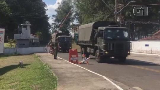 Exército de Campinas inicia missão para desbloquear acesso de caminhoneiros