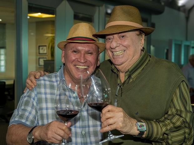 Sidney Oliveira e Raul Gil (Foto: Divulgação)