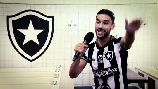Dê sua nota para o desempenho de Rodrigo Pimpão, do Botafogo, no terceiro episódio do Futeokê