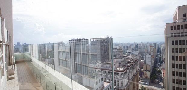 Vista do mirante no Farol Santander (Foto: Renato Suzuki / Divulgação)
