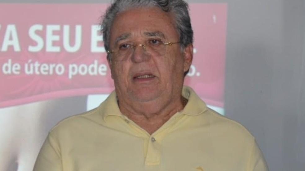 Prefeito de Pedra Branca renuncia ao cargo — Foto: Prefeitura de Pedra Branca/Divulgação