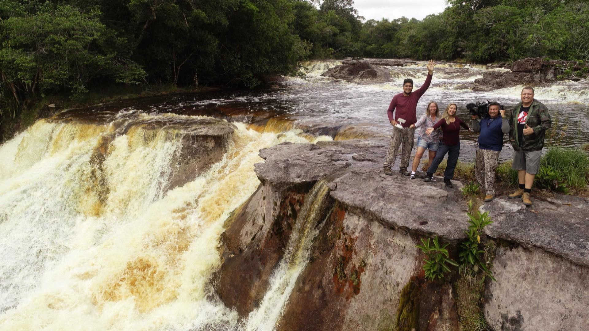 FOTOS: veja os bastidores das filmagens do Globo Repórter na Amazônia
