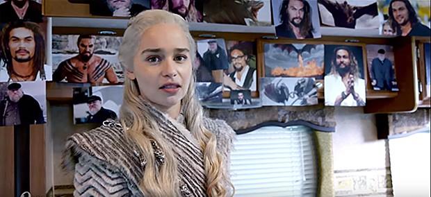 Emilia Clarke (Foto: Reprodução/ Youtube)