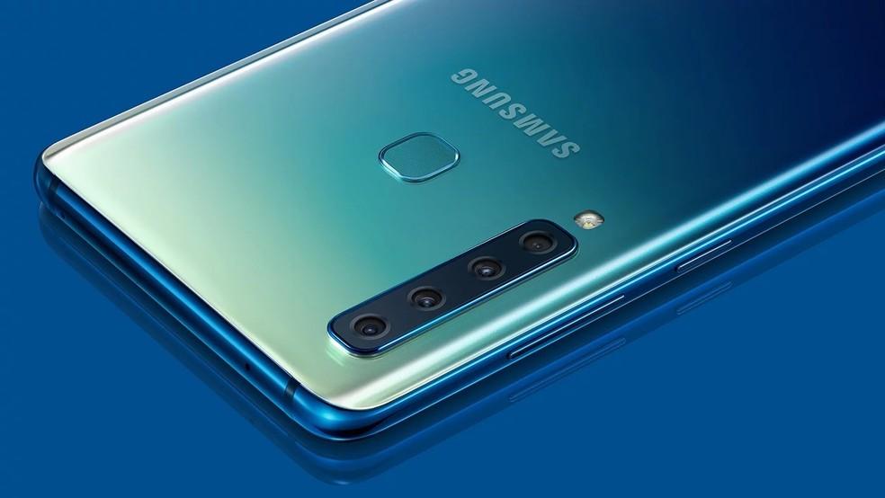Galaxy A9 (2018) ainda não tem preço divulgado pela Samsung — Foto: Divulgação/Samsung