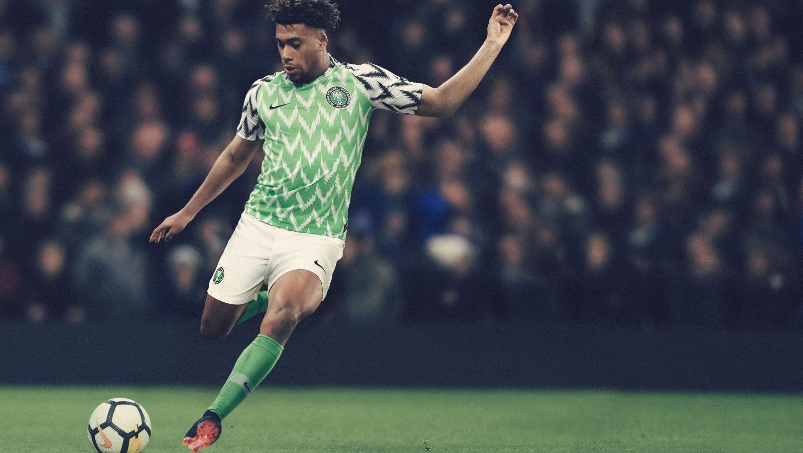 A camisa que a Nigéria usará na Copa do Mundo de 2018 (Foto: Divulgação)
