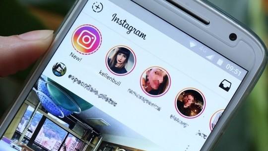 Foto: (Instagram Stories permite publicar fotos registradas em até 24 horas (Foto: Carolina Oliveira/TechTudo))