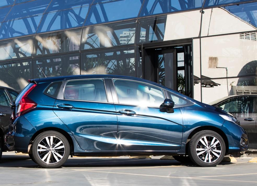 Honda Fit na terceira geração — Foto: Celso Tavares/G1