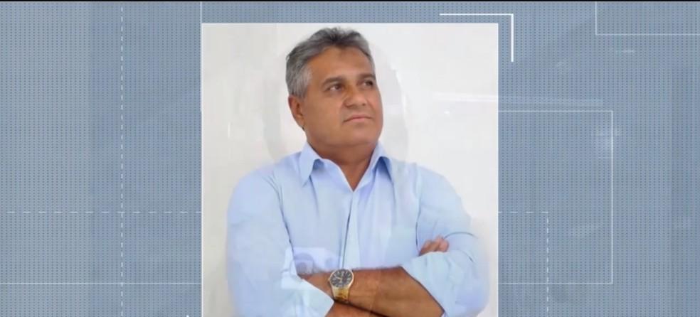 Ex-prefeito de Ipirá Aníbal Ramos morreu em acidente na cidade de Feira de Santana — Foto: Reprodução/TV Subaé