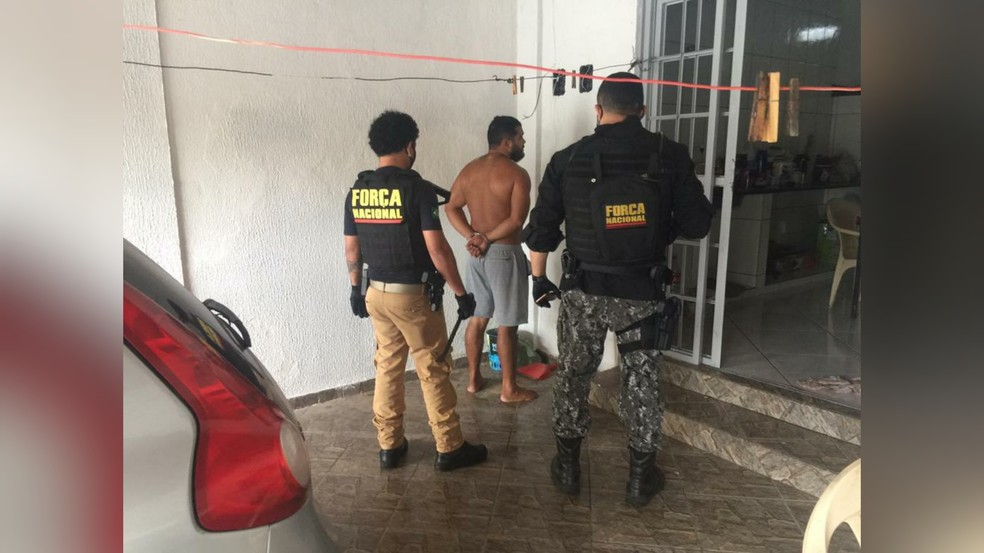 Um dos suspeitos foi preso em Goiania — Foto: Redes Sociais