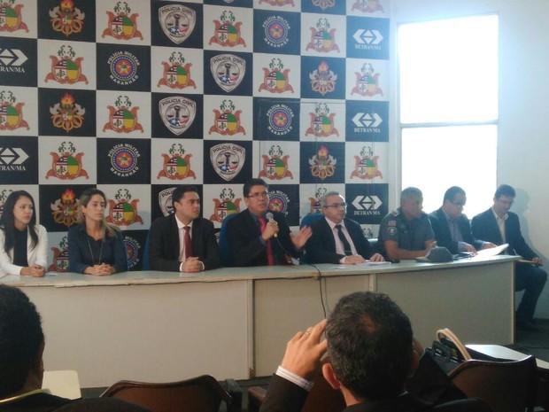 Coletiva apresenta novos resultados periciais sobre o Caso Mariana Costa (Foto: João Ricardo/G1 MA)