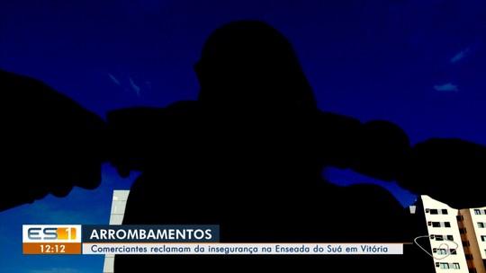 Cafeteria é invadida pela 4ª vez na Enseada do Suá, em Vitória