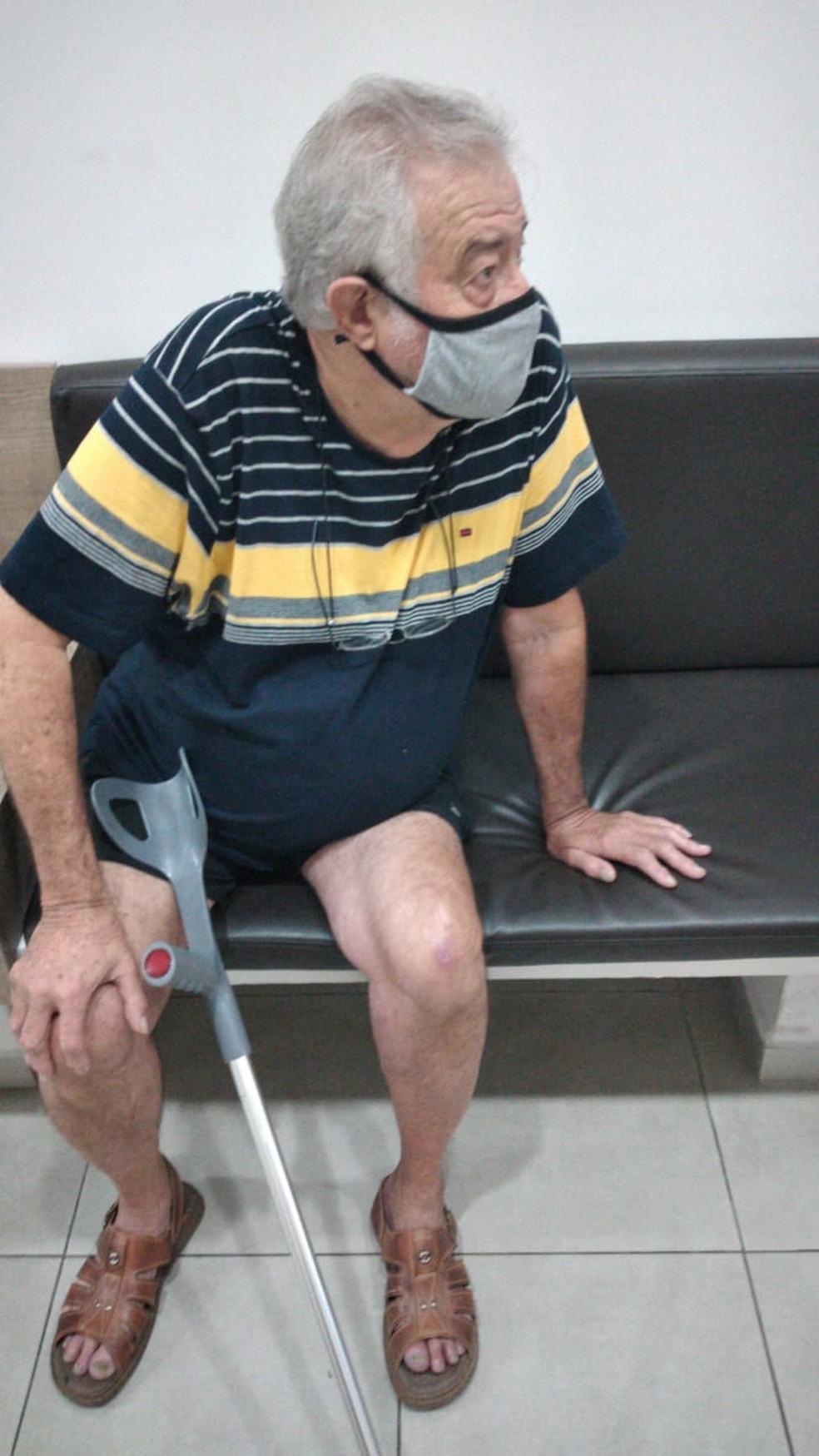 Leonildo foi diagnosticado com a Síndrome de Guillain-Barré em Bauru — Foto: Arquivo pessoal/Carlos Eduardo Fendel
