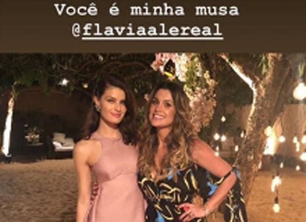 Isabeli Fontana e Flávia Alessandra (Foto: Reprodução/Instagram)