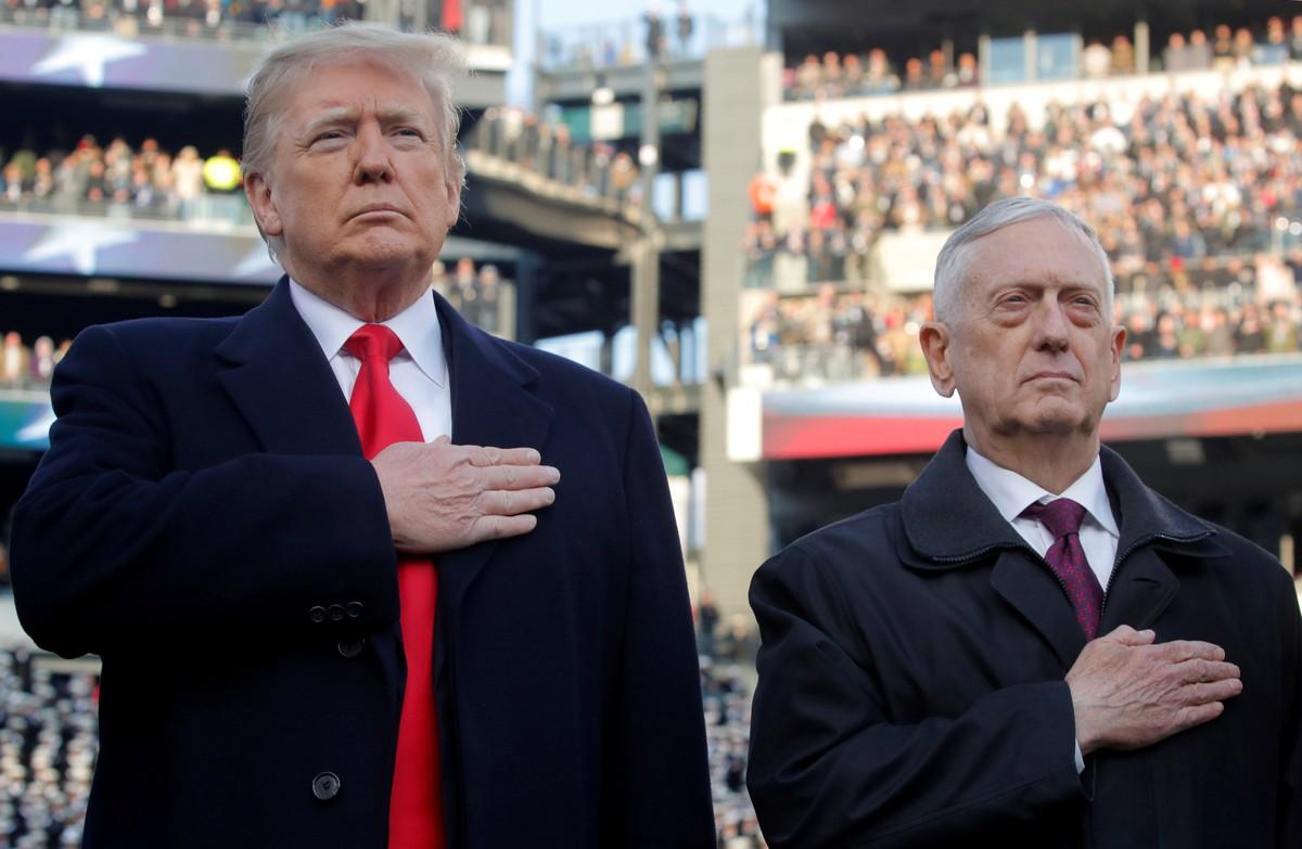 Former Trump Defense Secretary criticizes the US president's response to ...
