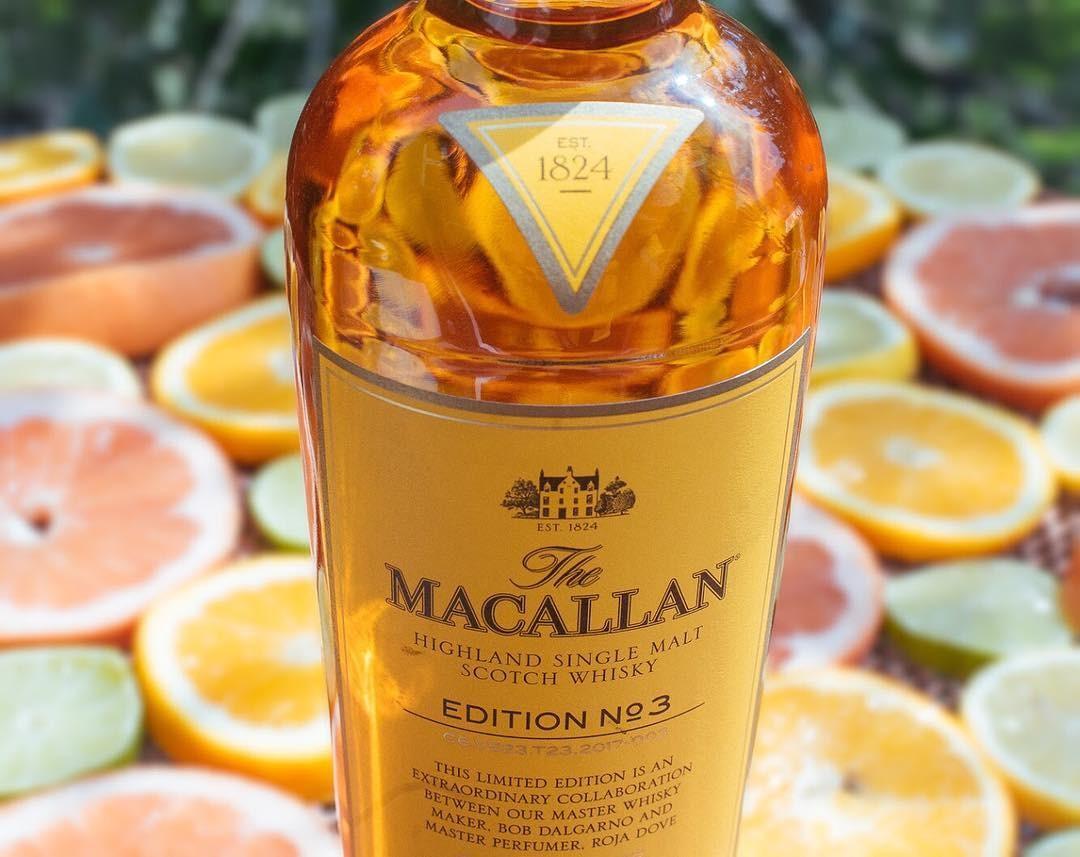 The Macallan Edition nº3 (Foto: Reprodução / Instagram)