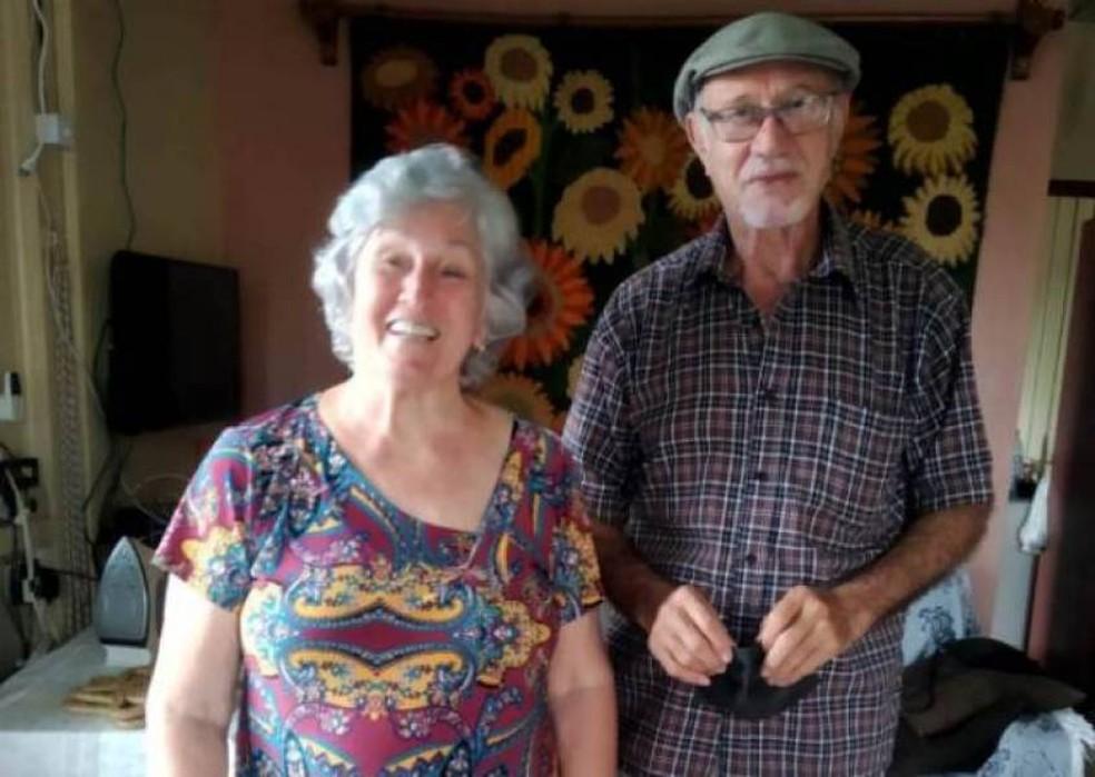 Dionélia Giacometti Mai e seu esposo Eldon Mai foram mortos em Rondônia — Foto: Facebook/Reprodução