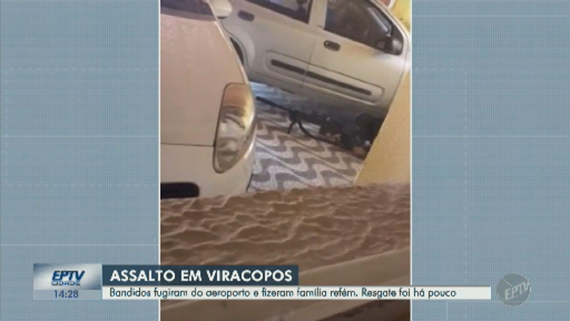 Roubo em Viracopos: atirador da PM mata sequestrador, e mãe e criança reféns são liberadas após 2h de negociações - Notícias - Plantão Diário