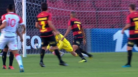 Melhores Momentos de Sport x Vila Nova-GO