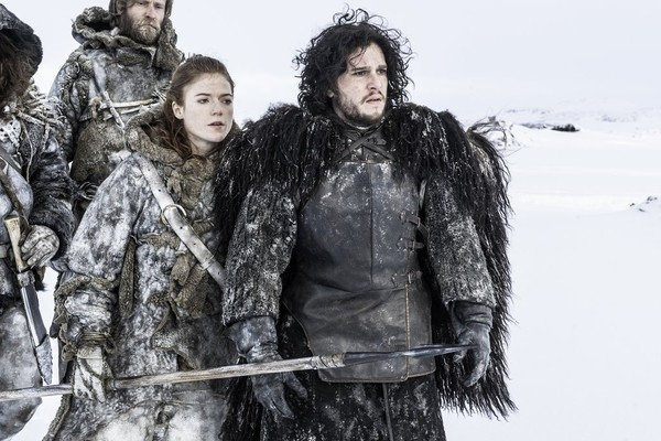 Rose Leslie como Ygritte e Kit Harington como Jon Snow em cena de 'Game of Thrones' (Foto: Divulgação)