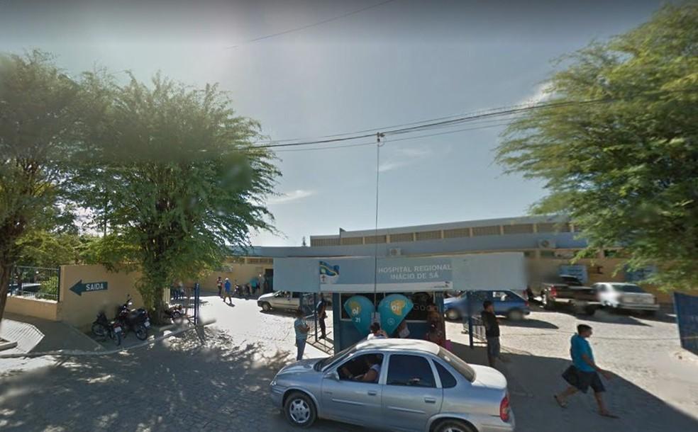 Hospital Regional Inácio de Sá em Salgueiro — Foto: Reprodução/ Google Street View