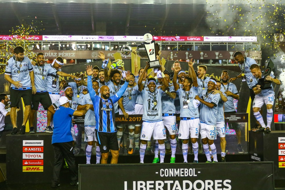 Libertadores 2018 ganha forma com 38 clubes classificados  confira a ... 9be56333ceb4f